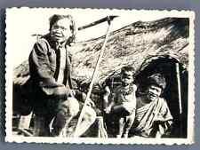 Vietnam, Tribu Moïs  Vintage silver print.  Tirage argentique d'époque