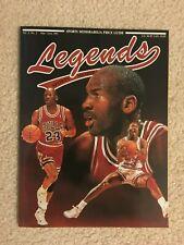 MICHAEL JORDAN MJ CHICAGO BULLS NORTH CAROLINA BASKETBALL MAGAZINE WIZARDS HOF