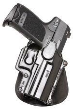 Fobus Roto Paddle Holster HK USP Compact 9mm/40/45 S&W Plastic Black HK1RP