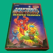 Masters of the Universe Kassette MC Folge 6 Im Kerker Skeletors #