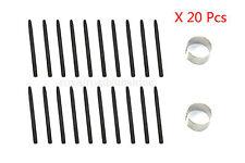 20 pcs NEW ORIG Black Standard Pen Nibs For Wacom Bamboo Fun Graphire Intuos 3&4