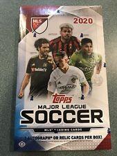 2020 Caja de fútbol Hobby Topps MLS -! Sellado en Fábrica! | Caja de 1
