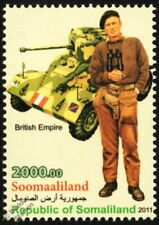 WWII British Army Uniform Stamp (Royal Tank Regiment) / AEC Armoured Vehicle