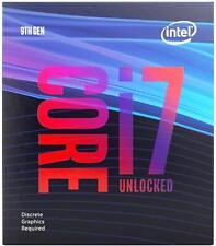 Intel Core i7-9700KF para equipos de desktop: 8 núcleos y 8 subprocesos-hasta 4.9 Ghz -