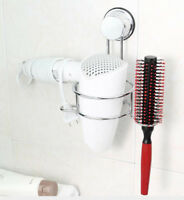 Föhnhalter Haartrockenhalter ansaugend SAUGKNOPF Föhnablage Badregal  Bad Regal