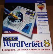 Corel WordPerfect Suite 8 Standard New in Box
