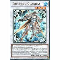Crystron Quandax - INOV-EN044 - Ultra Rare - 1st Edition - Yugioh