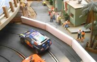 1/32 slot car Scenery Jersey Unpainted Barriers Guard Rails Scalextric Slot It