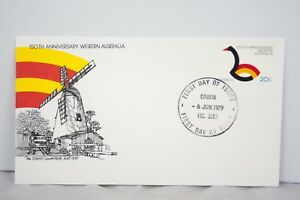 150th Anniversary Western Australia 1979 Australian First Day Cover Cover 128