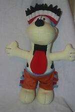 """Da collezione 15"""" Odie-Garfield Dog-vestito come un INDIAN-Peluche Giocattolo morbido"""