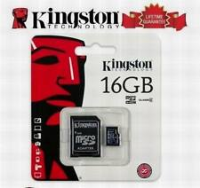 16GB 16Gig Memory Card for Samsung Galaxy S5 S4 i9500 S3 S2 Note 3 2 N7000 Ace 2