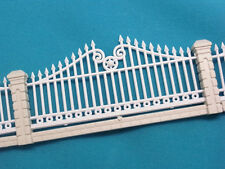 M08- Scale Model Trains Layout Set Fence 1 Meter OO HO