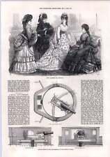 1872 Naval GUN CARRIAGE CAPITAINE SCOTT Hotspur tourelle Paris fashions