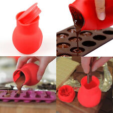 Red Chocolate Melting Pot Mould Milk Butter Sauce Baking Pouring Tool