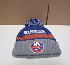 New NHL Men's New York Islanders  Embroidered Cuffed Reebok Knit Beanie Hat OSFA
