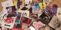 "Choose from 700+ Rock/Pop Singles! 7"" vinyl records 60s/70s/80s/90s Buy 6+1 FREE"