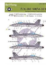 Bestfong Decals 1/48 MCDONNELL DOUGLAS F/A-18C HORNET VMFA-323