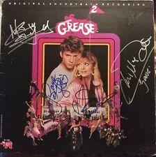 Maxwell Caulfield Grease 2 signed LaserDisc