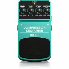 Effektgerät für Gitarren - Behringer CS400 Compressor/Sustainer