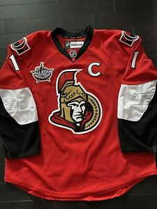 Ottawa Senators Home Reebok Edge 2.0 Jersey Size 56 Alfredsson All Star Patch