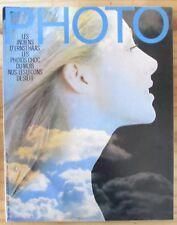 PHOTO MAGAZINE 1974 N° 79 INDIENS de ERNST HAAS LES NUS de SAUL LEITER et NEWTON