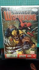 Savage Wolverine #006 signed by Stan Lee, Zeb Wells and Joe Mad with COA