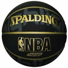 SPALDING Basketball GOLD HIGHLIGHT Size:7 Black Gold