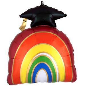 """Graduation Rainbow 23"""" Foil Balloon"""