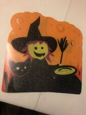 New listing Halloween Witch Placemats 14� X 15� Holiday Party Kitchen Set Of 3