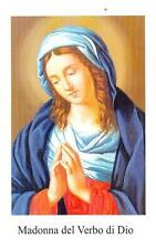 """OLD nice rare Holy cards """"H7235"""" madonna del verbo di dio"""