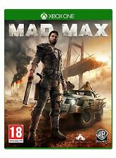 Mad Max Xbox One Brand New Factory Sealed