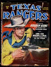 TEXAS RANGERS (3/1951) JACKSON COLE, LEE BOND, WILLIAM O' SULLIVAN