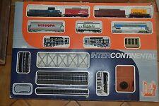 COFFRET DE TRAIN ELECTRIQUE N° 7865 MARQUE JOUEF INTERCONTINENTAL ANNEE 1979