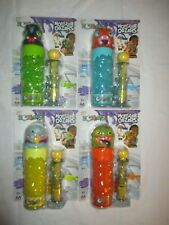 Zorbeez Monster Oozers Complete Set of 4 Fish Face Shaggy One Eye Spaced Out NEW