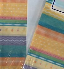 Voila Gift Wrap Tissue Paper Pastel Print Stripes Dots 20� X 20� 2 Packages Of 8