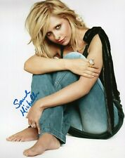 Autographed Sarah Michelle Gellar signed 8 x 10 photo Great Condition