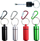 OMO mini metal vial with telescopic spoon Suitable for: Pill bottle Sample bo...