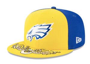 PHILADELPHIA EAGLES MANETO NEW ERA HAT 59FIFTY NFL CITY FLAG FITTED FOOTBALL CAP