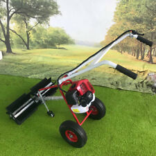 Portable Artificial Grass Brush Power Broom Handheld Turf Lawn Sweeper Tool