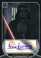 Topps Star Wars 30th Anniversary David Prowse Darth Vader Autograph Auto
