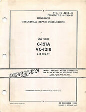 C-121A & VC-121B Structural Repair Instructions Flight Manual - CD version