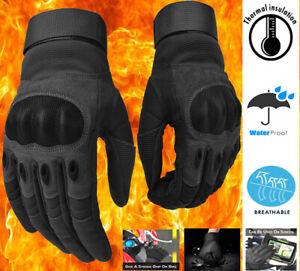 Thermal Viper Motorbike Gloves Waterproof Warm Motorcycle Mittens