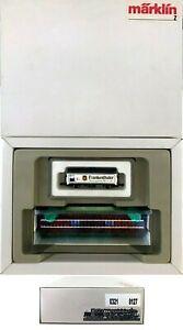 MARKLIN Z SCALE 8127-0321  Display Case with M/M Collector Car  C9 Original Box