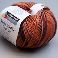 Schachenmayr Merino Extrafine Color 120 - 481 brasil color 50g(9.90 EUR pro 100g