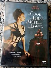 COOK THE THIEF HIS WIFE AND HER LOVER RARE BRAND NEW NC17 DVD Helen Mirren