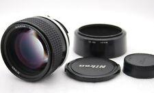 [Fast Neu Nikon Nikkor 85mm F/1.4 AI-S Mf Kamera Linse W / Kapuze SN219037 Japan