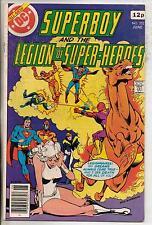 DC Comics Superboy & The Legion Of Super Heroes #252 June 1979 VF
