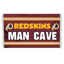 Washington Redskins 3x5 Man Cave Design Flag [New] Nfl Banner Sign Fan House