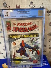 """Amazing Spider-man #23 Apr  """"The Goblin and the Gangsters""""..CGC 0.5..UNRESTORED"""