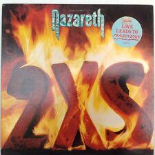 NAZARETH 2XS LP STEREO SP-4901 A&M Original Vinyl Record LP/promo/rare
